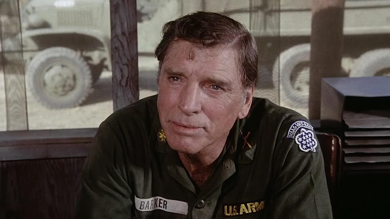 Burt Lancaster dans Le Merdier de Ted Post