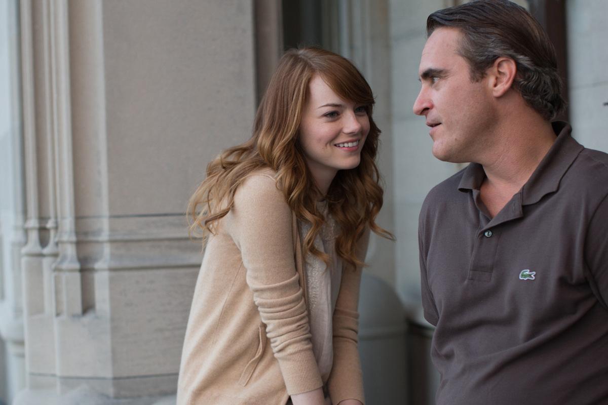 Emma Stone et Joachin Phenix dans L'Homme irrationnel de Woody Allen