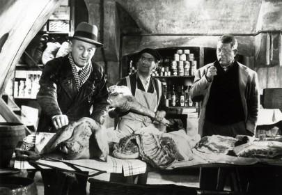Bourvil, Louis de Funès et Jean Gabin dans La Traversée de Paris
