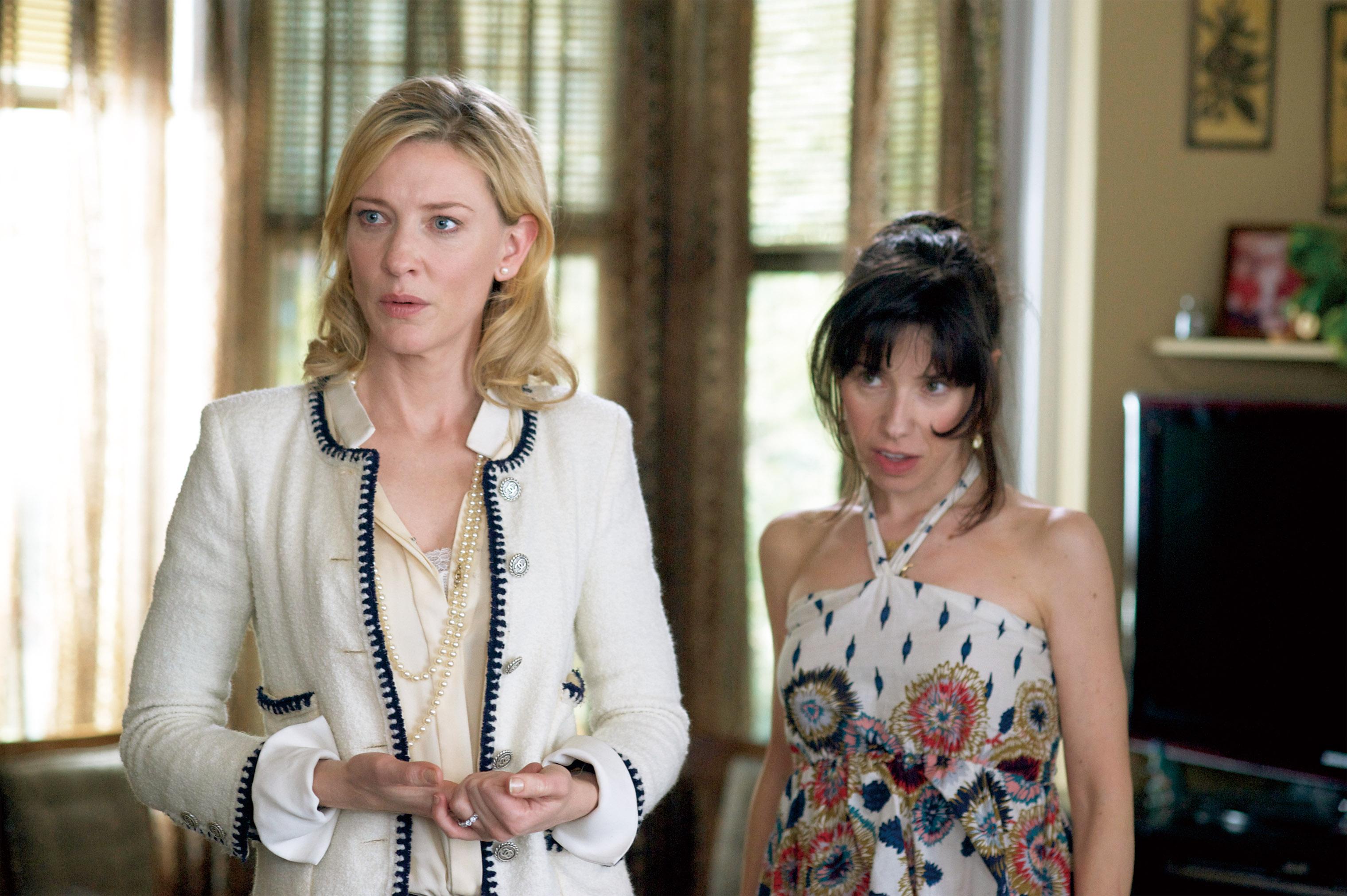 Cate Blanchett et Sally Hawkins dans Blue Jasmine de Woody Allen