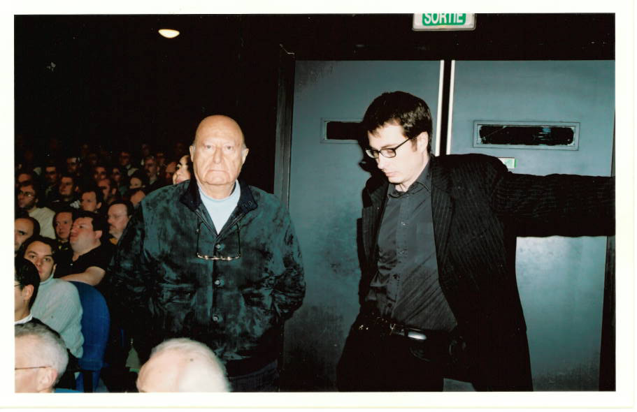 Samedi 10 novembre 2001 Sergio Sollima était venu à la Cinémathèque française présenter Le Dernier Face-à-face, dans la salle des Grands Boulevards.