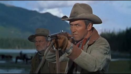 James Stewart dans Je suis un aventurier de Anthony Mann