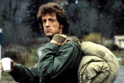 Sylvester Stallone dans Rambo