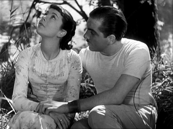 Sylvia Bataille et Georges Darnoux dans Partie de campagne