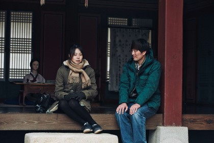 Kim Min-hee et Jeong Jae-yeong dans Right Now, Wrong Then