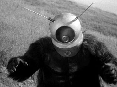 Ro-Man dans Robot Monster de Phil Tucker