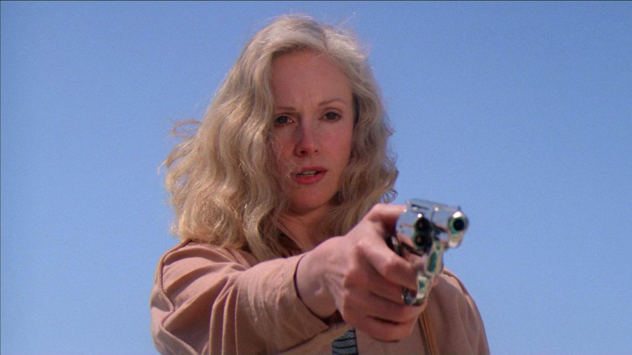 Sondra Locke dans Sudden Impact - le retour de l'inspecteur Harry de Clint Eastwood