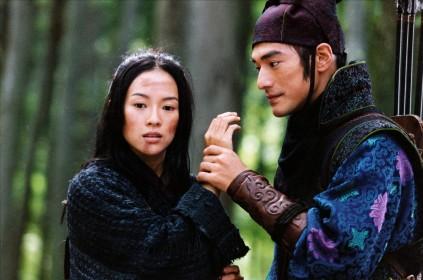 Zhang Ziyi et Takeshi Takeshiro dans Le Secret des poignards volants