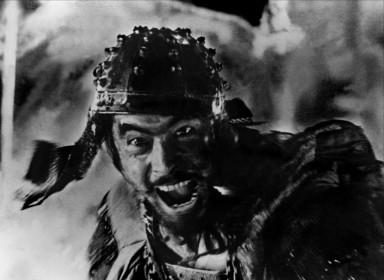 Toshiro Mifune dans Les Sept Samouraïs de Akira Kurosawa