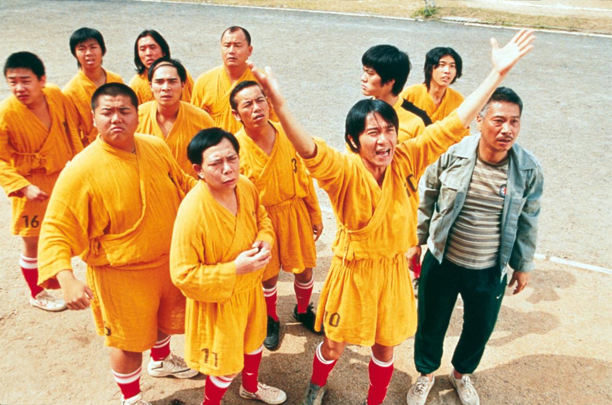 Stephen Chow et sa fine équipe dans Shaolin Soccer