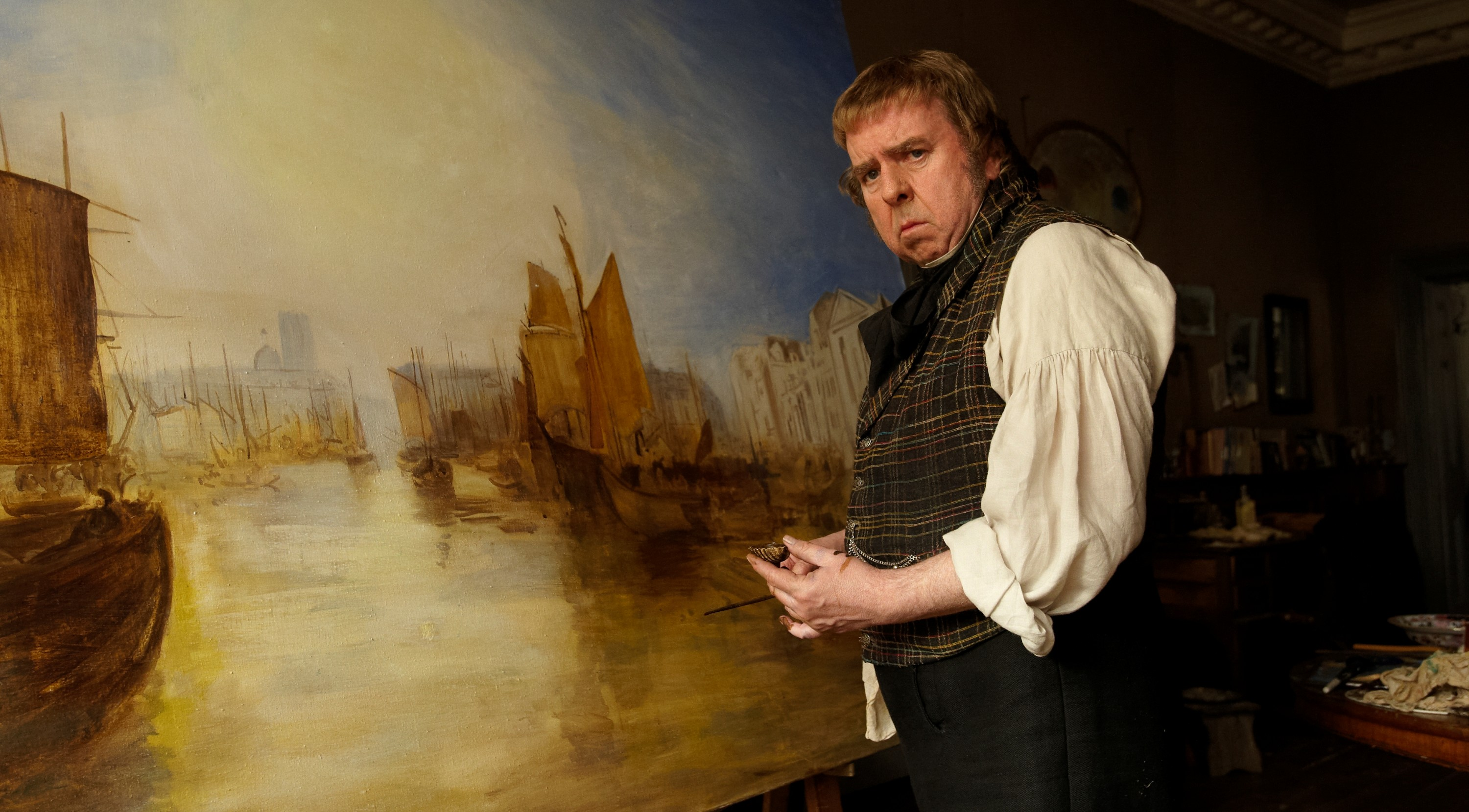 Timothy Spall dans Mr. Turner de Mike Leigh