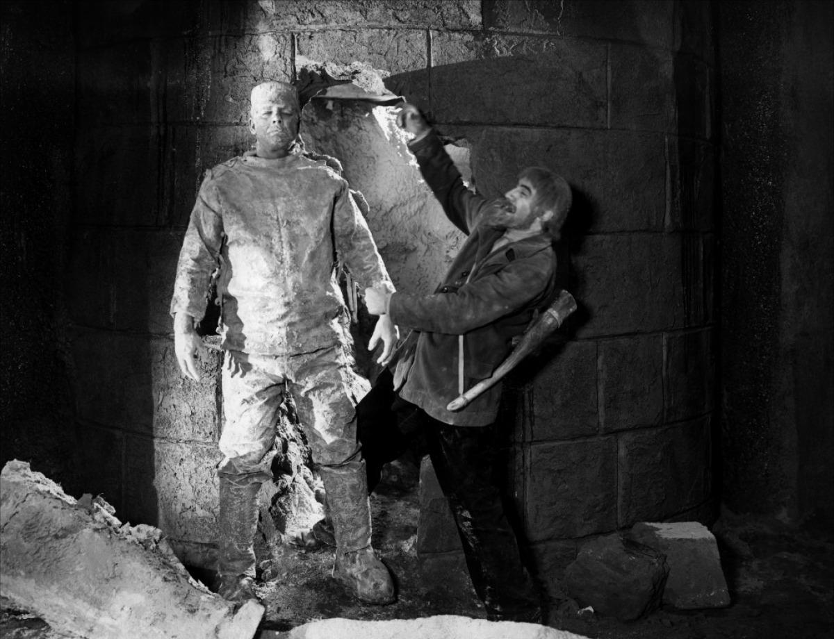 Lon Chaney Jr. et Bela Lugosi dans Le Spectre de Frankenstein