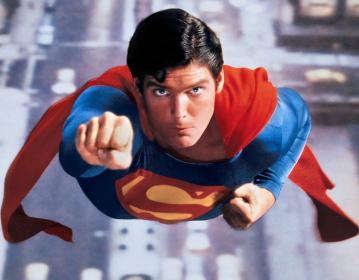 Christopher Reeve dans Superman