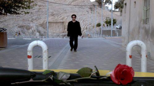 Jafar Panahi dans Taxi Téhéran