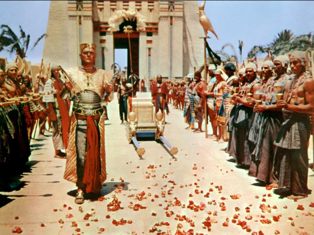 La Terre des pharaons de Howard Hawks