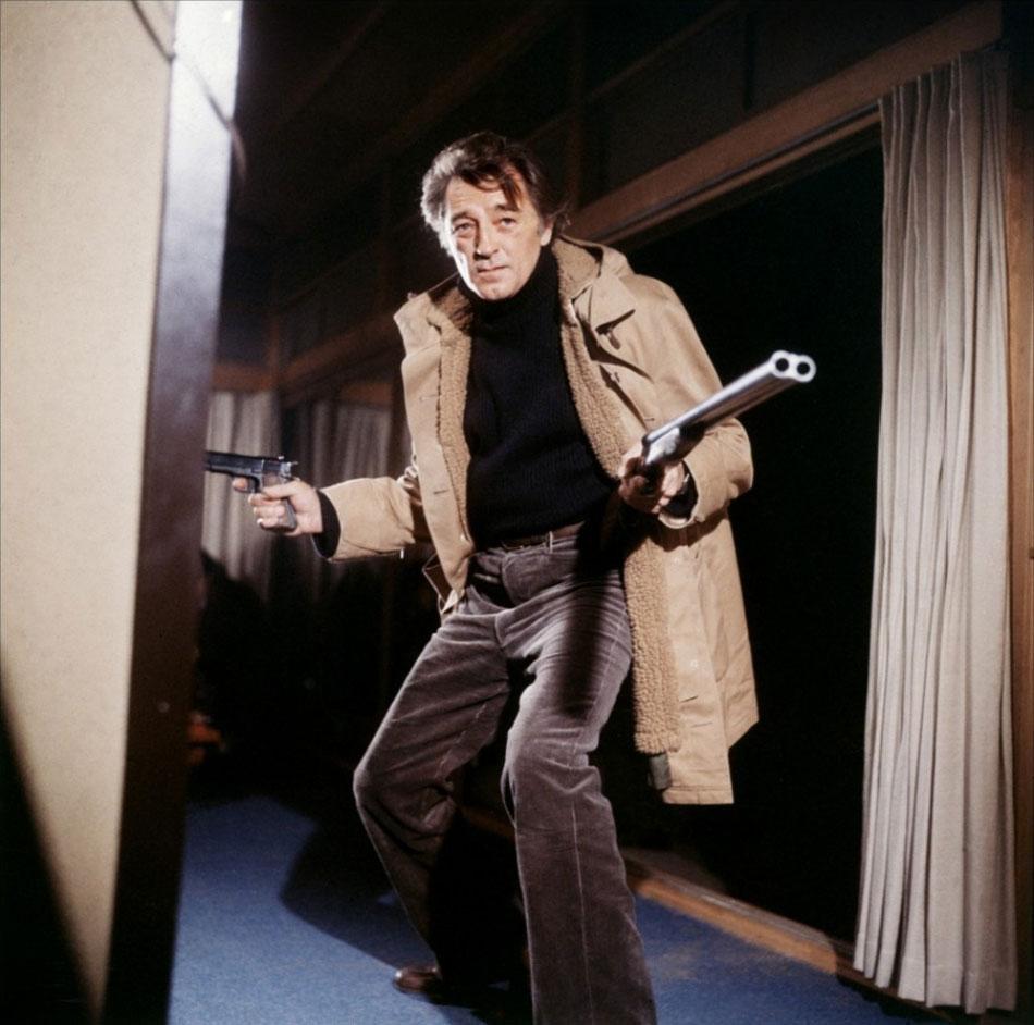 Robert Mitchum dans Yakuza de Sydney Pollack
