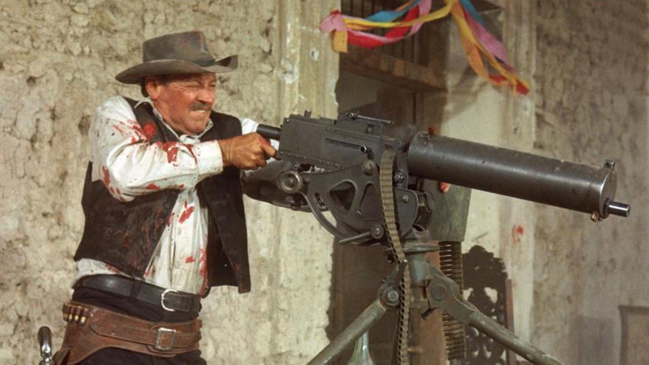 William Holden dans La Horde sauvage de Sam Peckinpah