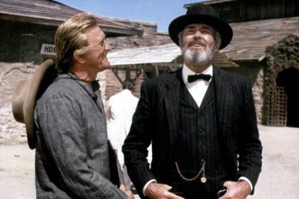 Kirk Douglas et Henry Fonda dans Le Reptile de Joseph L. Mankiewicz