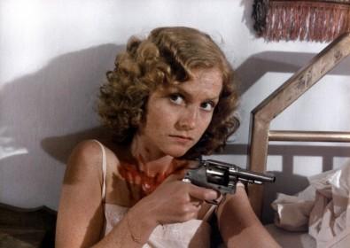 Isabelle Huppert dans Coup de torchon