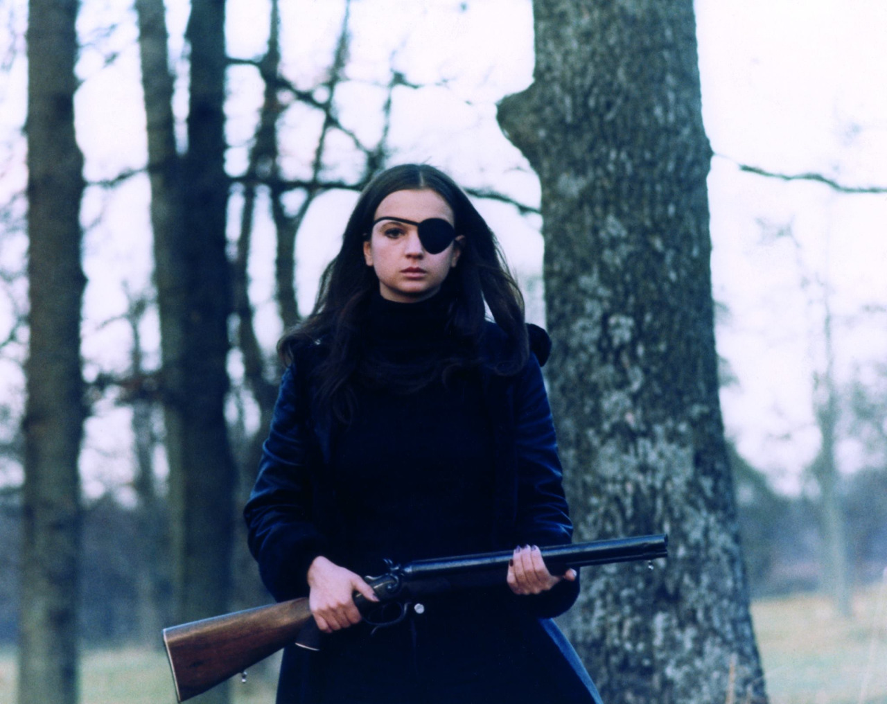 Christina Lindberg dans Thriller