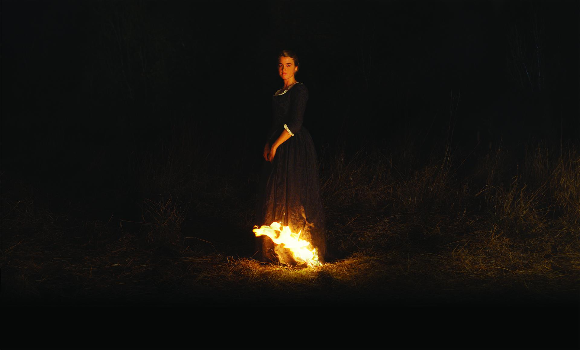 Adèle Haenel dans Portrait de la jeune fille en feu de Céline Sciamma