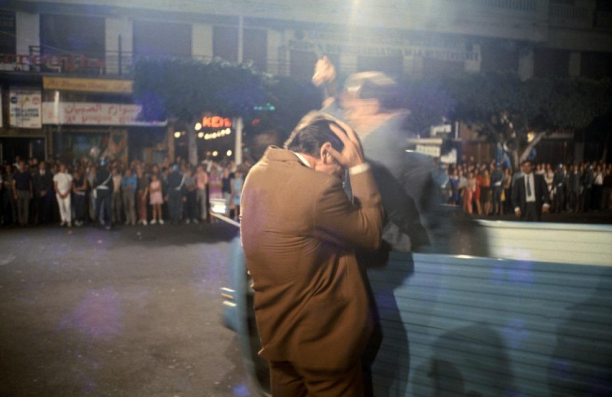 Le meurtre du personnage de Yves Montand dans Z de Costa-Gavras