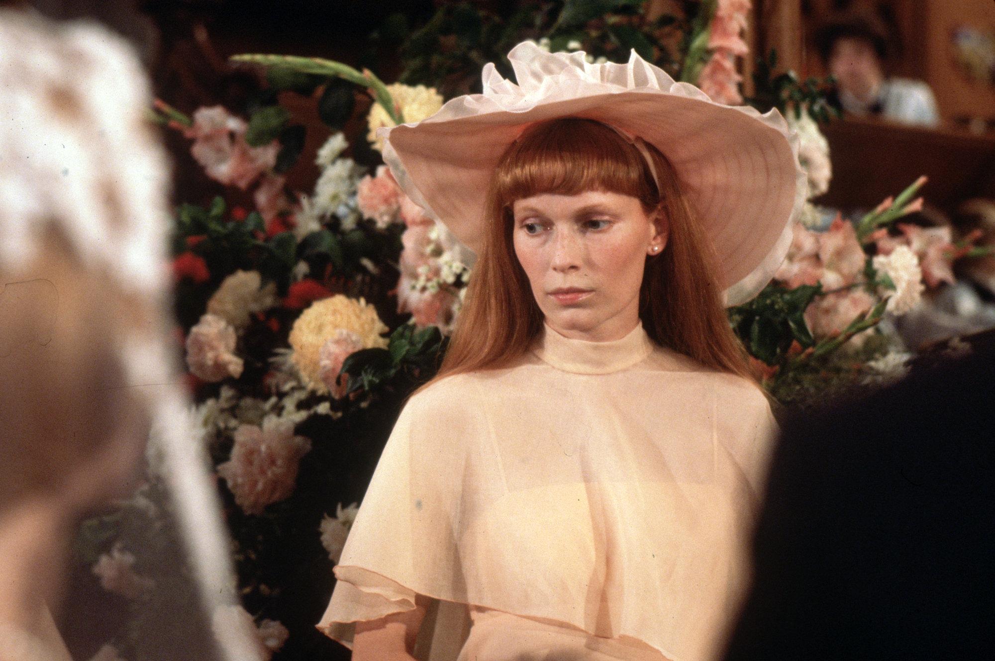 Mia Farrow dans Un mariage de Robert Altman